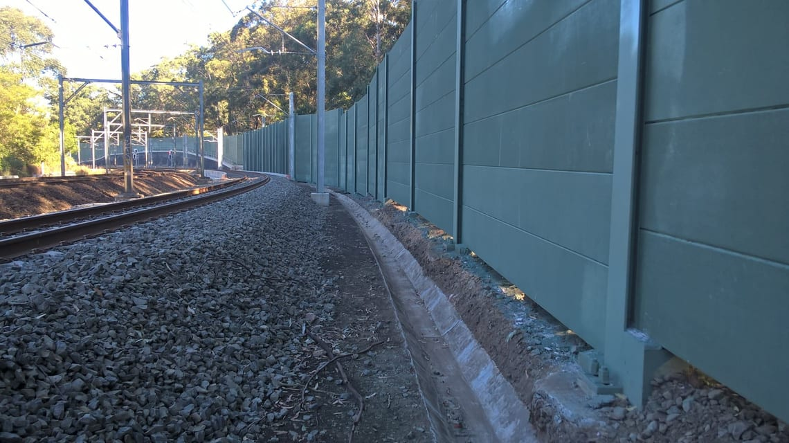 Epping to Thornleigh Third Track.