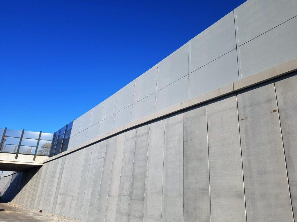 King Georges Rd Amp M5 Intersection Stywill Texture Coating